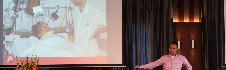 inspirerende spreker zorg: mensgerichte zorg, klantbeleving, patientgericht, lief ziekenhuis, ook voor onderwijs in de zorg