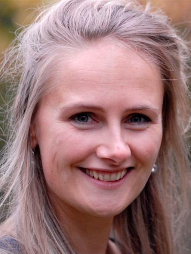 Community manager Loes van Nunen